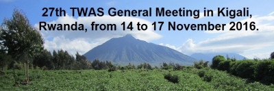 27th TWAS General Meeting in Kigali, Rwanda, November 2016