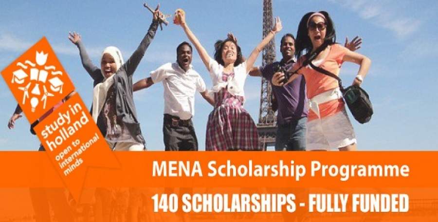 2017 MENA Scholarship Programme for Short Courses in Netherlands
