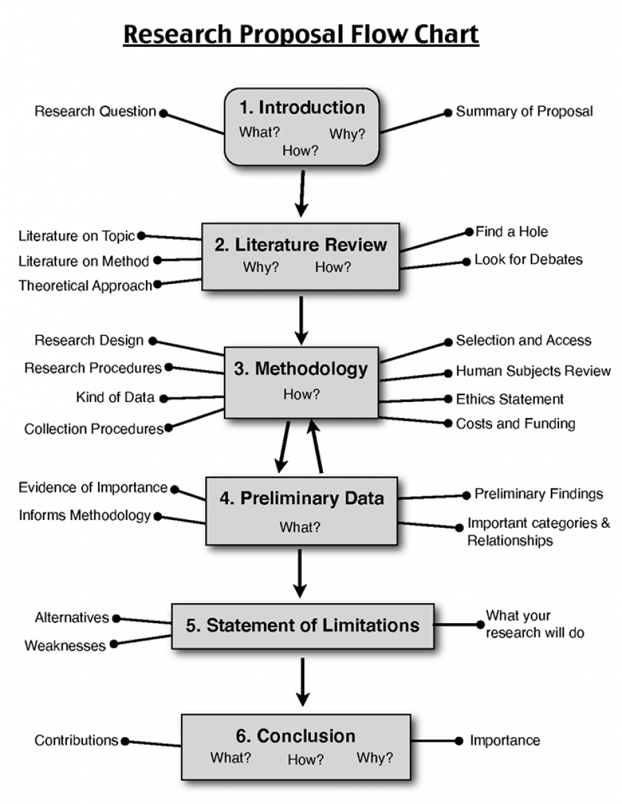 TWELVE STEPS TO A WINNING RESEARCH PROPOSAL