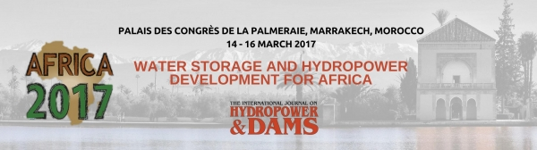 WATER STORAGE AND HYDROPOWER DEVELOPMENT FOR AFRICA Marrakech, Morocco