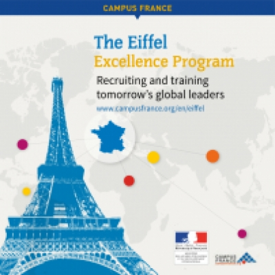 Eiffel scholarships 2017