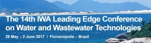 The 14th IWA Leading Edge Conference on Water and Wastewater Technologies 2017 /  Florianópolis – Brazil