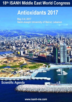 ISANH Middle East Antioxidants Congress Beirut, Lebanon 2017