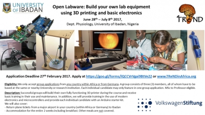 "VolkswagenStiftung-sponsored ""Open Labware"""
