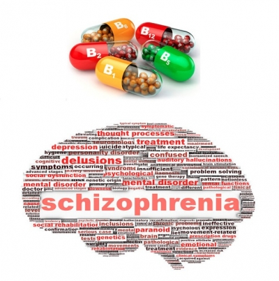 Certain vitamins and minerals found to be effective for improving symptomatic outcomes of schizophrenia